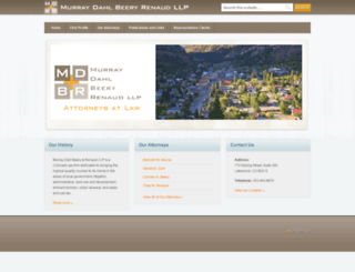 mdkrlaw.com screenshot