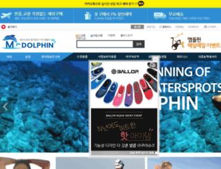 mdolphinshop.co.kr screenshot