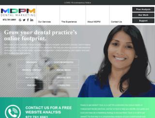 mdpmconsulting.com screenshot