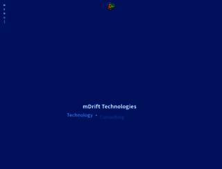 mdrift.com screenshot