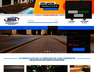 mdsa-composite.fr screenshot