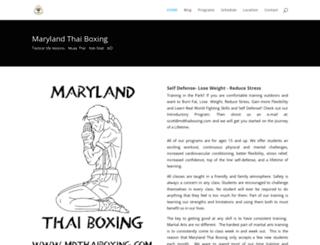 mdthaiboxing.com screenshot