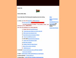 mduaccounts.googlepages.com screenshot
