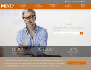 mdvip.com screenshot