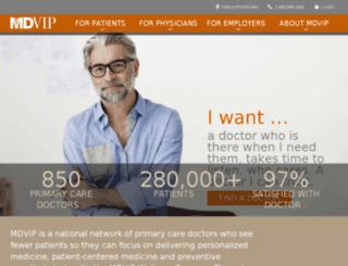 mdvip.postclickmarketing.com screenshot