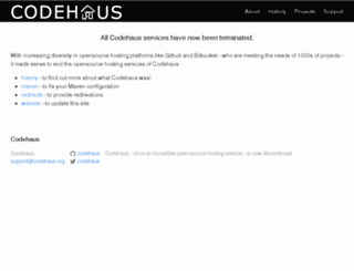 mdweb.codehaus.org screenshot