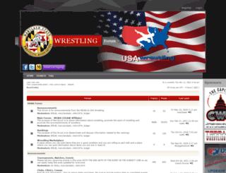 mdwrestling.net screenshot