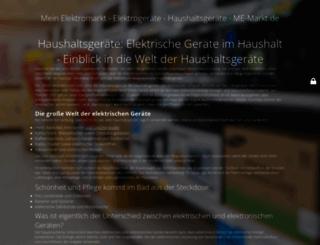 me-markt.de screenshot