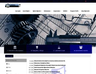 me.erciyes.edu.tr screenshot