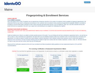 me.ibtfingerprint.com screenshot