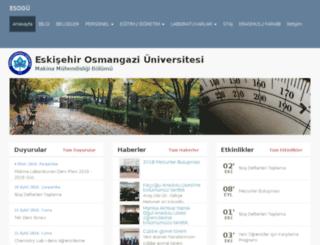 me.ogu.edu.tr screenshot