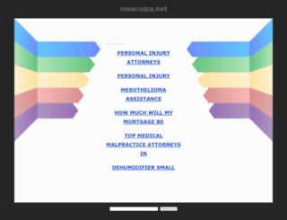 meacolpa.net screenshot