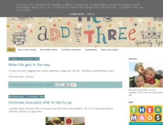 meaddthree.blogspot.co.uk screenshot