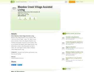meadow-creek-village-assisted-living.hub.biz screenshot