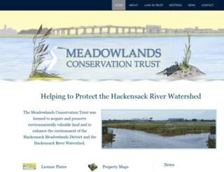meadowlandsconservationtrust.org screenshot