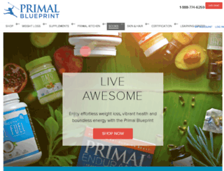 mealplan.primalblueprint.com screenshot