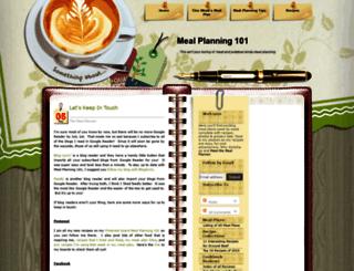 mealplanning101.com screenshot