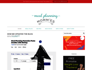 mealplanningmommies.com screenshot