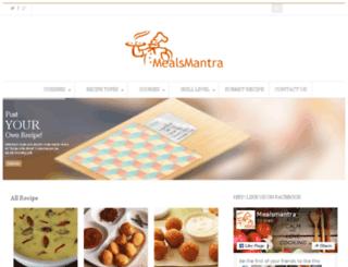 mealsmantra.com screenshot