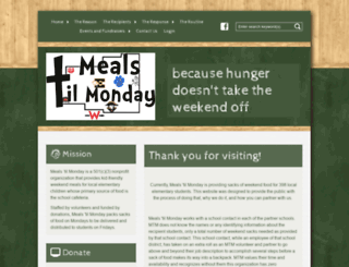 mealstilmonday.org screenshot