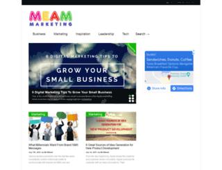 meammarketing.com screenshot