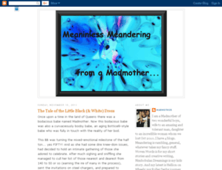 meanderingmadmother.blogspot.com screenshot