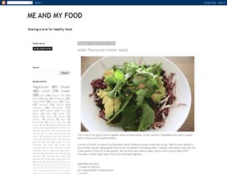 meandmyfood.blogspot.nl screenshot