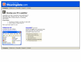 meaningdata.com screenshot