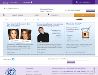 meaningfulbeauty.co.uk screenshot