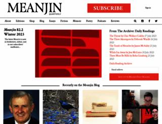 meanjin.com.au screenshot