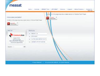 measat.com.my screenshot