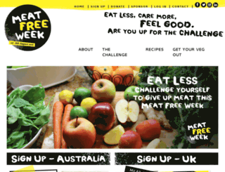 meatfreeweek.com screenshot