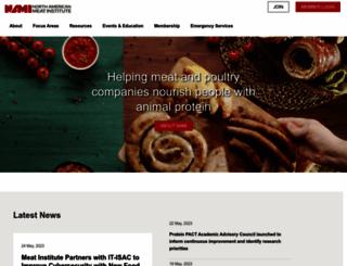 meatinstitute.org screenshot