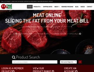 meatonline.com.au screenshot