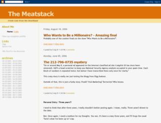 meatstack.blogspot.com screenshot