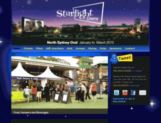 mebankstarlightcinema.com.au screenshot