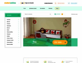 mebel-online.ru screenshot