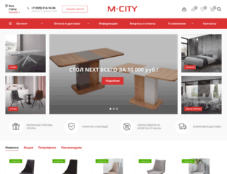 mebelcity.com screenshot
