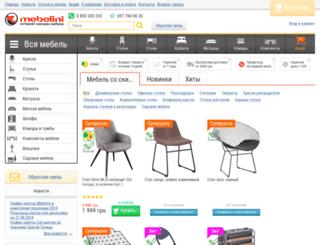 mebelini.ua screenshot