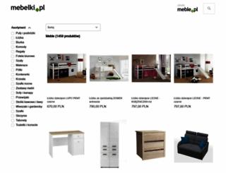 mebelki.pl screenshot