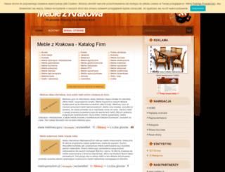 meble-krakow.pl screenshot