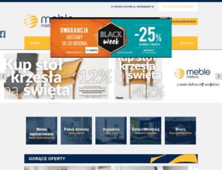 meble-merkury.pl screenshot