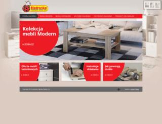 meble.biedronka.pl screenshot