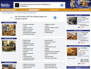 mebsite.ru screenshot