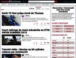 mecacustom.com screenshot