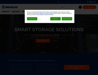 mecalux.com screenshot