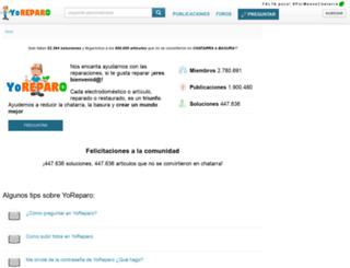 mecanica.yoreparo.com screenshot