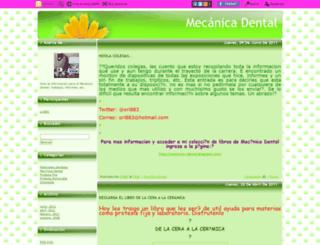 mecanicadental.blogcindario.com screenshot