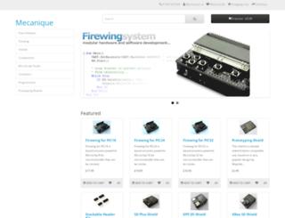 mecanique.co.uk screenshot