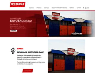 mecanofar.com.br screenshot